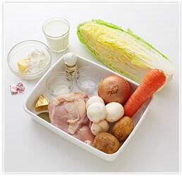 白菜のシチュー(4本分)