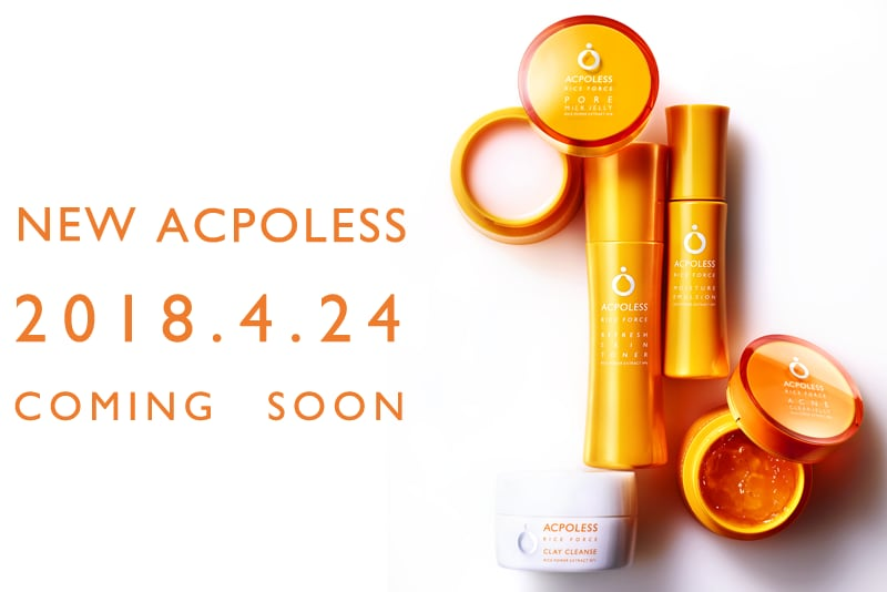 NEW ACPOLESS 2018.4.24 COMING SOON