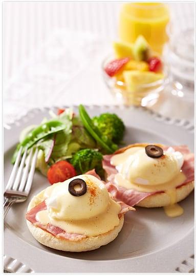 アメリカ生まれのおしゃれな朝食メニュー「エッグベネディクト」