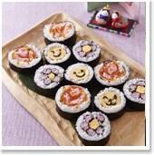 """今年のひな祭りパーティは""""飾り巻き寿司""""で可愛く楽しんで!"""