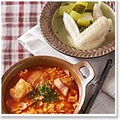 """夏疲れに効くスープ2種""""スペインのにんにくスープ ソパ・デ・アホ""""と""""冬瓜と手羽先のスープ"""""""