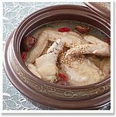 """炊飯ジャーで簡単! """"参鶏湯風 コラーゲンスープ"""""""
