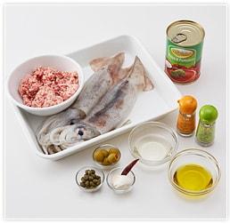 イカの肉詰めのトマト煮《所要時間約30分》