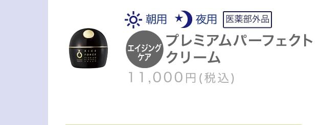 プレミアムパーフェクトクリーム 10,000円(税抜)