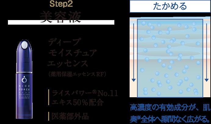 Step2 美容液 ディープモイスチュアエッセンス