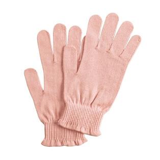 おやすみ肌ピカ 手袋(指先シリコンあり)